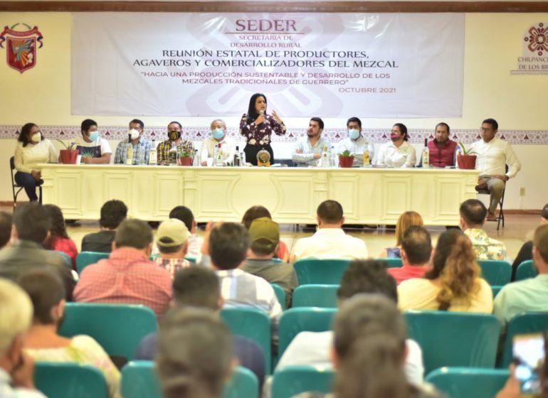 Chilpancingo es sede de la reunión estatal de productores, agaveros y comercializadores de mezcal